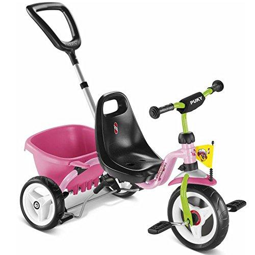 Puky 2225 Dreirad CAT 1 S Touring mit Kipper rosa/kiwi