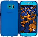 mumbi Schutzhülle Samsung Galaxy S6 / S6 Duos Hülle transparent blau (Slim – 1.2 mm) - 2