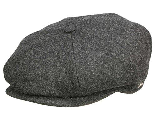 cb938a91e73 wigens Gert Globo Gorro pantalla – Gorro con orejeras de lana – Dark Grey  Melange Gris
