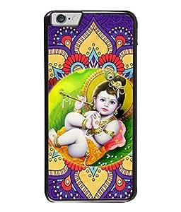 PrintVisa Designer Back Case Cover for Apple iPhone 6 Plus :: Apple iPhone 6+ (Flute Music Sound Pleasant God Creator Love)