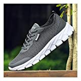 YAYADI Men Casual Shoes Breathable Ultralight Outdoor Walking Footwear Trainers Jogging Fitness Shoes