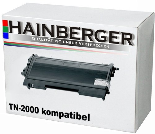 Hainberger Toner für Brother TN-2000 HL-2030/2040/2070N DCP-7010/7025