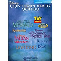 Disney Contemporary Songs for Low Voice (Book & CD)