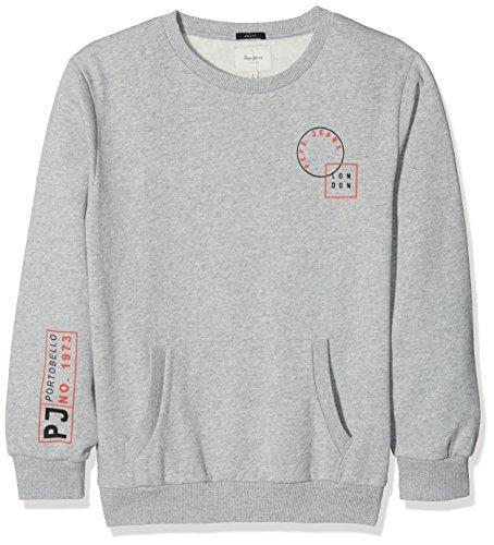Pepe Jeans Jungen Sweatshirt Shian Teen Grau (Grey Marl) X-Small
