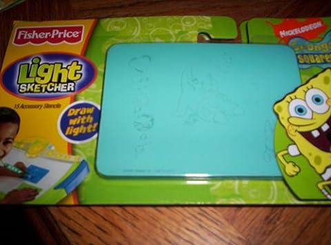 Fisher Price Light Sketcher Spongebob Squarepants
