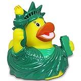 Vinyl Badeente City Duck New York Gummiente Mitgebsel Kindergeburtstag - 8 cm by HC-Handel