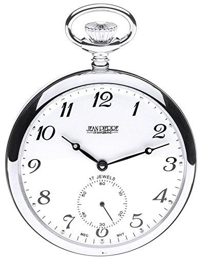 Sterling Silber Taschenuhr öffnen Faced - 17 Jewel mechanische Bewegung