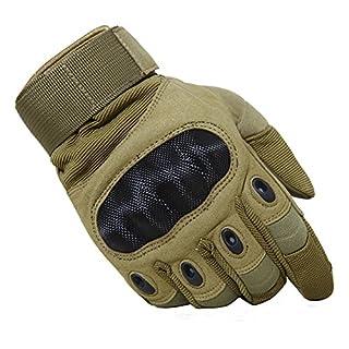TACVASEN Motorcycle Gloves Mens Summer Waterproof Breathable Gloves Windproof Racing Game Road Bike Gloves Yellow