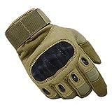 TACVASEN Outdoor Handschuhe Winter Motorrad Handschuhe Herren Vollfinger Klettern Army Gloves Ideal für Airsoft,Militär,Paintball