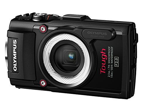 Olympus-LG-1-LED-Light-Guide-per-Fotocamere-Olympus-Stylus-TG-1TG-2TG-3-Nero