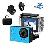 OTHA Action Cam 4k Fotocamera Subacquea Slow Motion Camera Wi-Fi...
