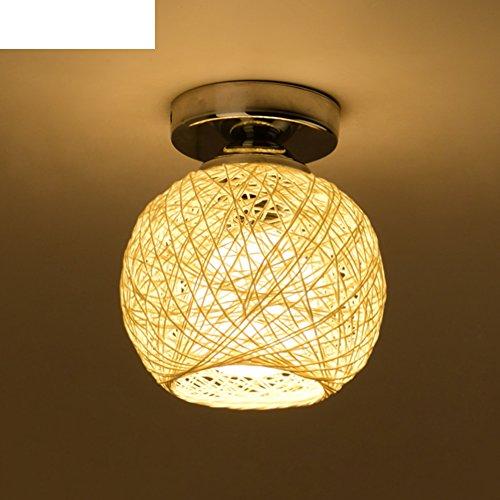 black/[lanterne di Hall]/ little lampade/[moderno]LED Negozio d'abbigliamento guardaroba rotondo rattan