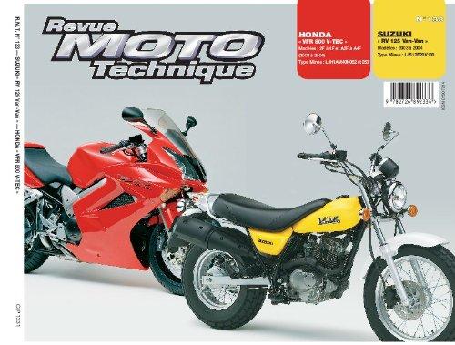 Rmt 133.1 Honda Vfr 800 (02/04) Suzuki Rv 125(03/04)