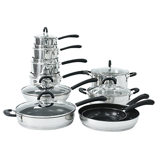 ProCook Gourmet Stainless Steel Induction Cookware Set 10 Piece - SPRING OFFER!
