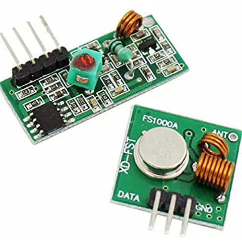 Goliton 1pair 433M modulo trasmettitore wireless modulo Superregenerative / modulo ricevitore wireless RF