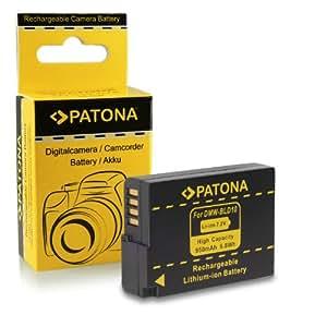Batterie DMW-BLD10 E pour Panasonic Lumix DMC-GF2 | DMC-G3 | DMC-GX1