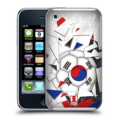 Head Case Designs Algérie Ballon De Football Étui Coque D'Arrière Rigide Pour Apple iPhone 6 / 6s Corée Du Sud
