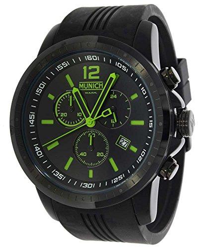 Orologio Munich 10 Atm display Cronografo cinturino Gomma e quadrante MU+102.3A