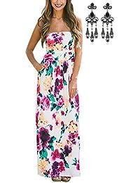 726024a3b6ad Amazon.es: Vestido Largos De Verano - 36 / Vestidos / Mujer: Ropa