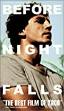 Before Night Falls [VHS] [Import USA]