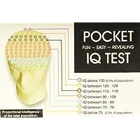 NPW cerebro Teaser IQ Test Quiz tarjetas–BOLSILLO IQ Test