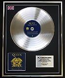 QUEEN/Limitierte Edition Platin Schallplatte/GREATEST HITS II