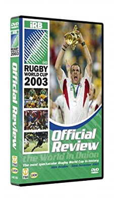 Rugby World Cup - Official Review 2003 - England [DVD] : everything £5 (or less!)