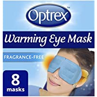 Optrex Warming Eye Mask, Pack of 8