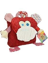 Preisvergleich für Luxma Kinderrucksack Affe Rucksack Kinder Tasche Kindergarten Cord Kuscheltier Ausflug