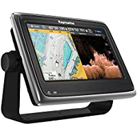 Raymarine E70167-Gd Una Serie A77 WiFi Touch Pantalla Multifunción De Sonda con El Mapa De La UE DE 17,8 Cm (7