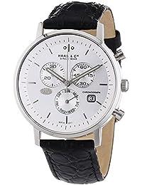 Haas & Cie Herren-Armbanduhr Vitesse Chronograph Quarz Leder MFH211ZSA
