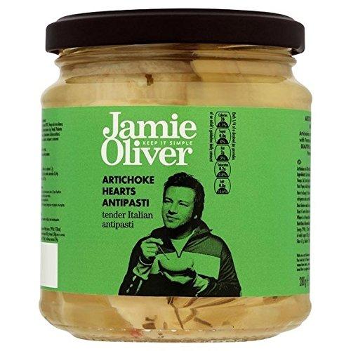 Jamie Oliver Les Cœurs D'Artichauts Antipasti 280G - Paquet de 6