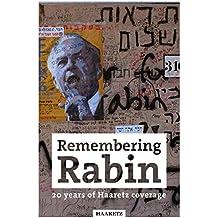 Haaretz e-books - Remembering Rabin: 20 years of Haaretz coverage (English Edition)