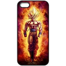 iPhone 5S Funda, dragon ball Serie de Apple iPhone 55S Funda Case Cover Funda, silicona Skin Funda Carcasa Shell protector para iPhone 55S