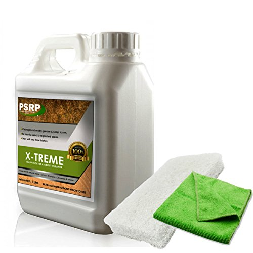 Heavy Duty Tile & Grout Cleaner Xtreme Clean for Stone, Tile and Grout 1 Litre by PSRP