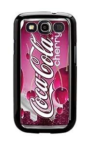 Case Schutzrahmen hülse Coke Coca Cola Classic C10 Abdeckung für Samsung Galaxy S3 Border Gummi Silikon Tasche Schwarz @pattayamart
