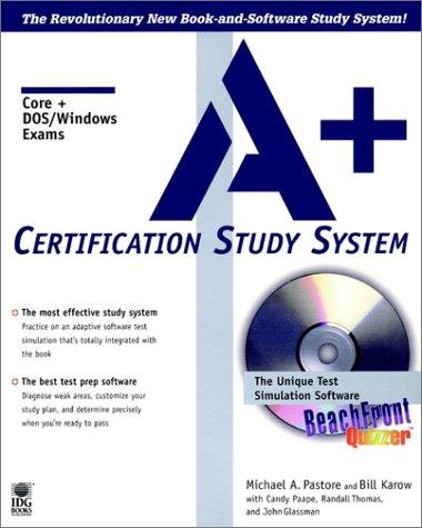A+ Certification Guide (Certification Study Guide) por Michael Pastore