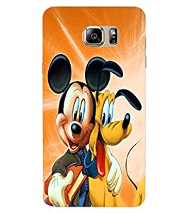 ColourCraft Lovely Cartoon Characters Design Back Case Cover for SAMSUNG GALAXY NOTE 7
