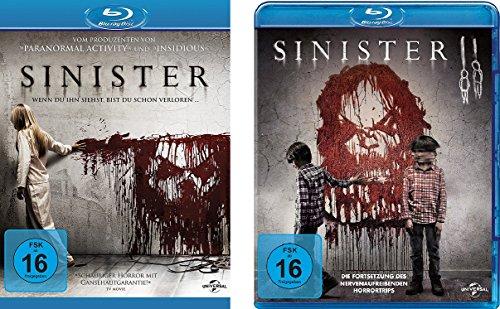 Sinister & Sinister II im Set - Deutsche Originalware [2 Blu-rays]