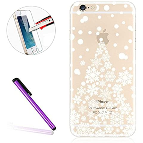 iPhone 6S Plus Custodia Trasparente, iPhone 6 Plus 5.5 Cover, Il non-gap Fit [Design] [resistente ai graffi] [protezione angolo] [Slim Fit] Cover in TPU Gomma Gel 5,5