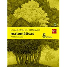 Cuaderno de matemáticas. 5 Primaria, 1 Trimestre. Savia - 9788467570144