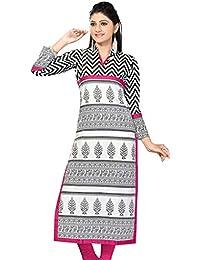 The Style Story White Designer Cotton Kurti