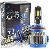 Safego 75W H11 H8 H9 Lámpara LED Kit Bombillas 4Chips 6000LM Alto Low LED Kit de