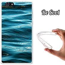Becool® Fun - Funda Gel Flexible para Elephone M2, Carcasa TPU fabricada con la mejor Silicona, protege y se adapta a la perfección a tu Smartphone y con nuestro exclusivo diseño. Olas tranquilas