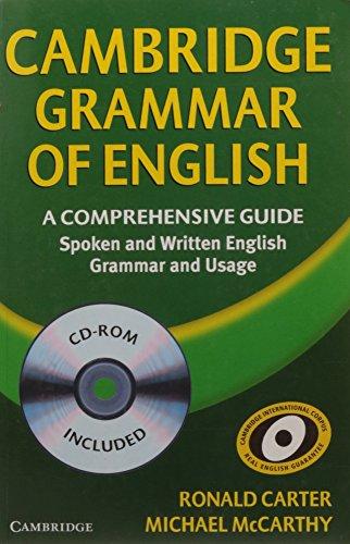 Cambridge Grammar of English Paperback with CD-ROM: A Comprehensive Guide por Ronald Carter