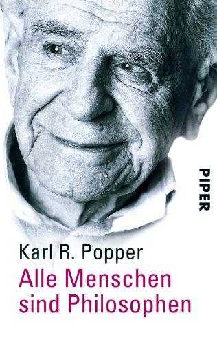 Buchseite und Rezensionen zu 'Alle Menschen sind Philosophen' von Karl R. Popper