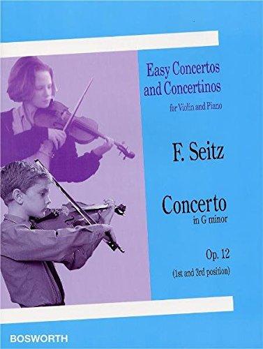 Friedrich Seitz: Concerto in G Minor for Violin an...