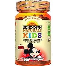 Productos naturales del ocaso - Los niños vitamina C + naranja fantástico de Mickey Mouse - 60Gomitas