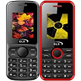 GLX W5 & W8, Basic Feature Mobile Phone, Combo Of 2 (Black+Red)