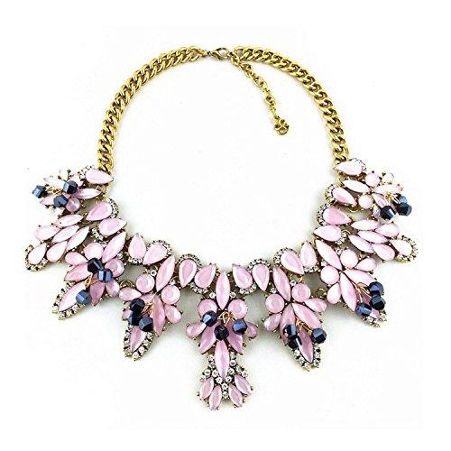 Designer Kette Statement Halskette Outfit Abendkette NEU